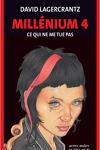 couverture Millénium, Tome 4 : Ce qui ne me tue pas