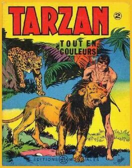 Couverture du livre : Tarzan tout en couleur Tome 2