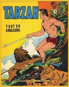 Couverture du livre : Tarzan tout en couleur tome 3