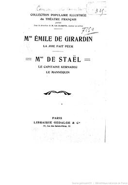 Couverture du livre : Le mannequin