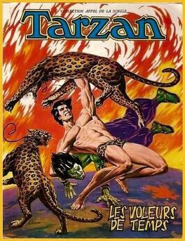 Couverture du livre : Tarzan : Les voleurs de temps