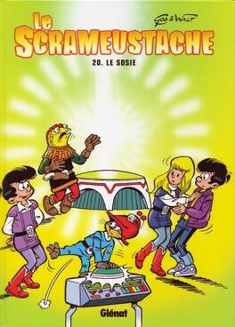 Couverture du livre : Le Scrameustache, tome 20 : Le sosie