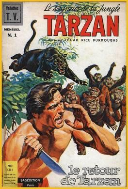 Couverture du livre : Tarzan Mensuel 1ère série Tome 01