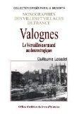 Couverture du livre : Valognes, le Versailles normand aux heures tragiques