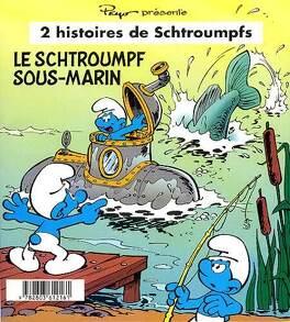Couverture du livre : Le schtroumpf sous marin