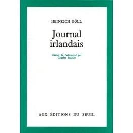 Couverture du livre : Journal irlandais