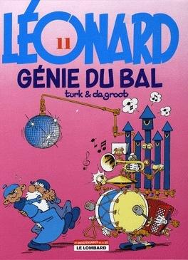 Couverture du livre : Léonard, Tome 11 : Génie du bal