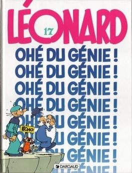 Couverture du livre : Léonard, Tome 17 : Ohé du génie !
