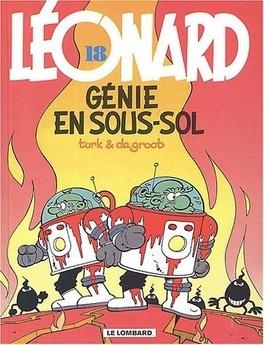 Couverture du livre : Léonard, tome 18 : Génie en sous-sol