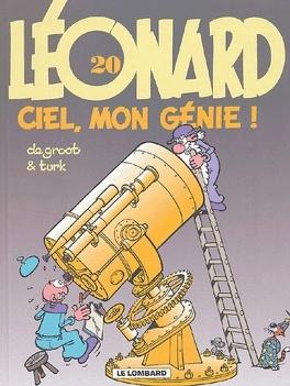 Couverture du livre : Léonard, tome 20 : Ciel, mon génie !