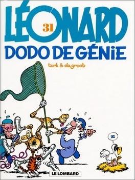 Couverture du livre : Léonard, tome 31 : Dodo de génie
