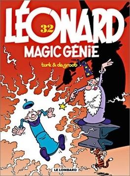 Couverture du livre : Léonard, Tome 32 : Magic Génie