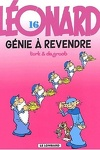 couverture Léonard, Tome 16 : Génie à revendre