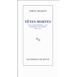 Couverture du livre : Têtes-mortes