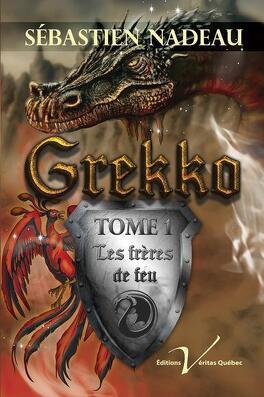 Couverture du livre : Grekko Tome 1 Les frères de feu