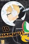 couverture Haikyū !! Les As du volley, Tome 10
