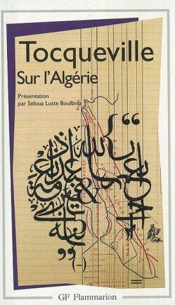 Couverture du livre : Sur l'Algérie