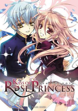 Couverture du livre : Kiss of Rose Princess, Tome 4