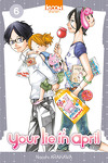 couverture Your lie in april, tome 6
