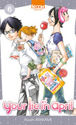 Your lie in april, tome 6
