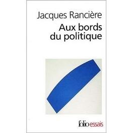 Couverture du livre : Aux bords du politique