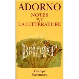 Couverture du livre : Notes sur la littérature