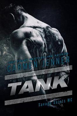 Couverture du livre : Savage Saints MC, Tome 2 : Tank
