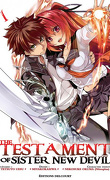 The testament of sister new devil, tome 1