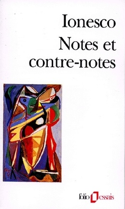 Couverture du livre : Notes et contre-notes