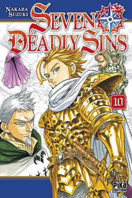 Couverture du livre : Seven Deadly Sins, Tome 10