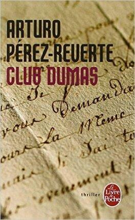 Couverture du livre : Club Dumas