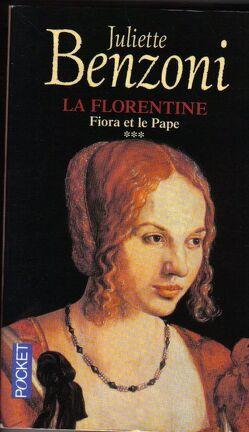Couverture du livre : La Florentine, tome 3 : Fiora et le Pape