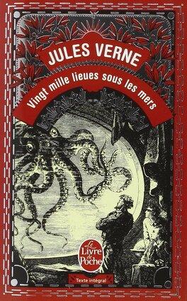 Couverture du livre : Vingt mille lieues sous les mers