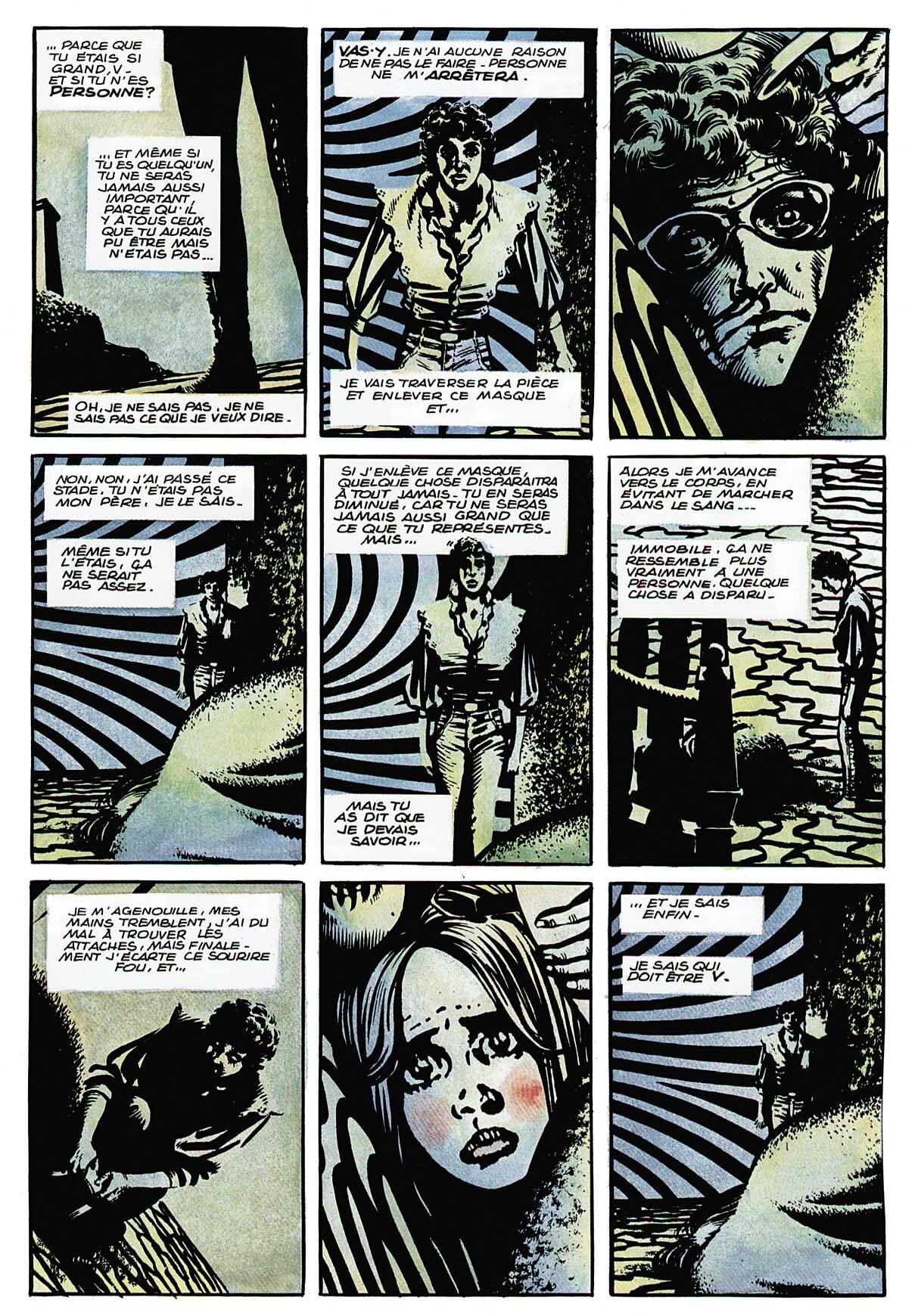 V Pour Vendetta Comics