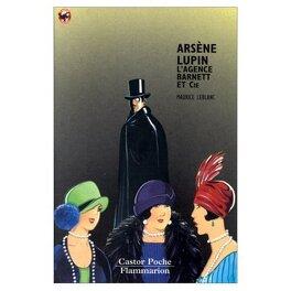 Couverture du livre : Arsène Lupin : L'agence Barnett et Cie