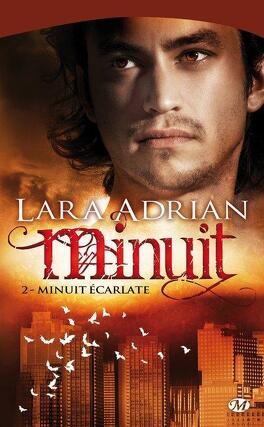 Couverture du livre : Minuit, Tome 2 : Minuit écarlate