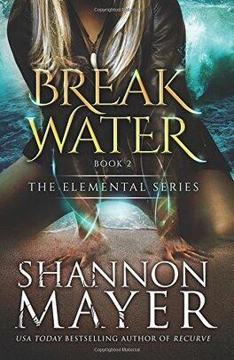 Couverture du livre : Elemental, Tome 2 : Breakwater