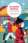 couverture Les cousins Karlsson, Tome 4 : Monstres et mystères