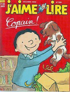 Couverture du livre : J'aime lire, nº 359 : Copain !