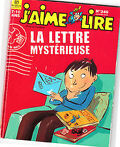 J'aime lire, La lettre mystérieuse