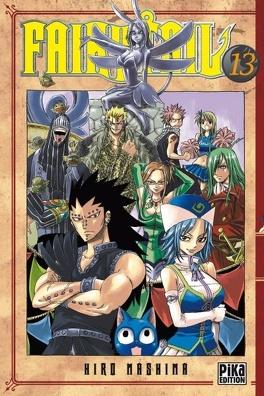 Couverture du livre : Fairy Tail, Tome 13