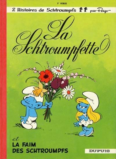 Couvertures images et illustrations de les schtroumpfs tome 3 la schtroumpfette de peyo - Le grand schtroumpf et la schtroumpfette ...