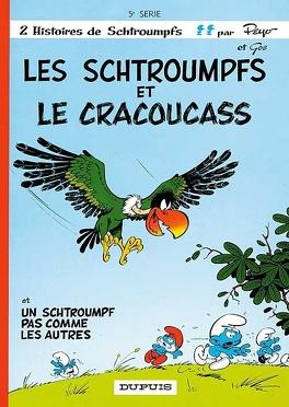 Couverture du livre : Les Schtroumpfs, Tome 5 : Les Schtroumpfs et le Cracoucass