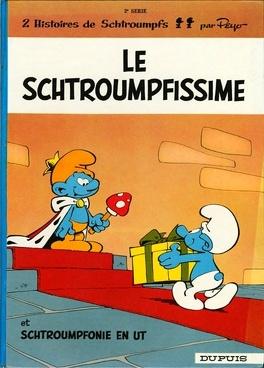 Couverture du livre : Les Schtroumpfs, Tome 2 : Le Schtroumpfissime (+ Schtroumpfonie en ut)