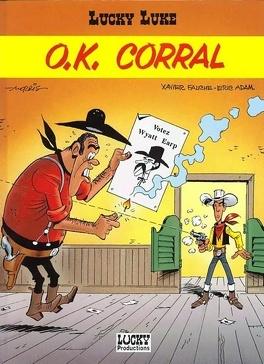 Couverture du livre : Lucky Luke, Tome 66 : O.K. Corral