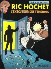 Couverture du livre : Ric Hochet, tome 49 : L'Exécuteur des ténèbres
