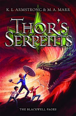 Couverture du livre : Les Légendes de Blackwell, Tome 3 : Thor's Serpents