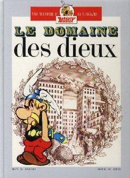Couverture du livre : Astérix - Double album : Tomes 17 & 18 - Le Domaine des Dieux / Les Lauriers de César