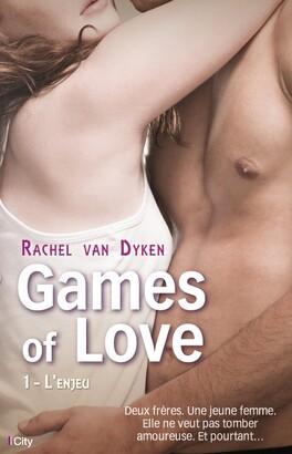 Couverture du livre : Games of Love, Tome 1 : L'Enjeu