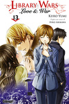 couverture Library Wars : Love & War, Tome 13